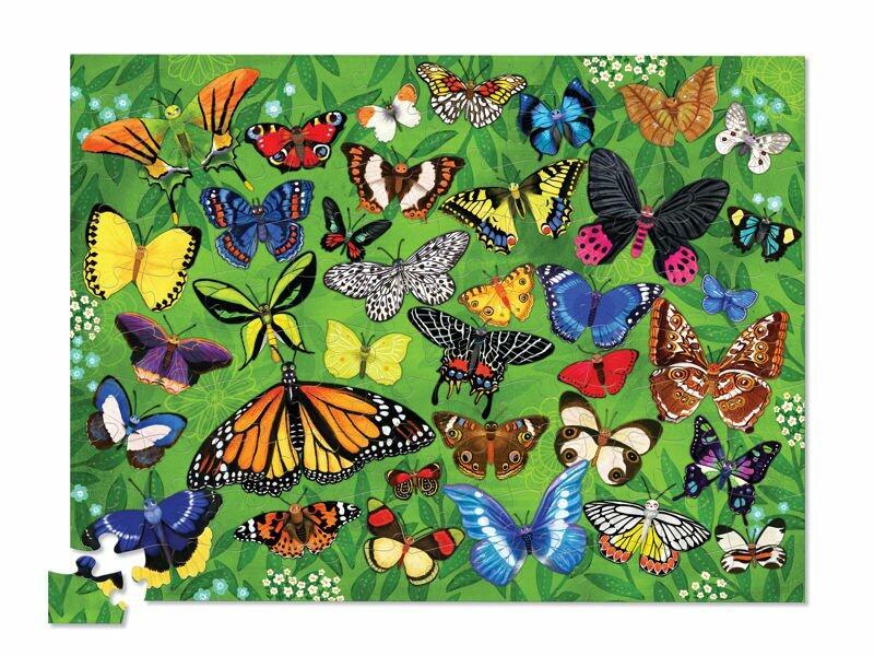 puzzle motyle crocodile creek 100 elementów