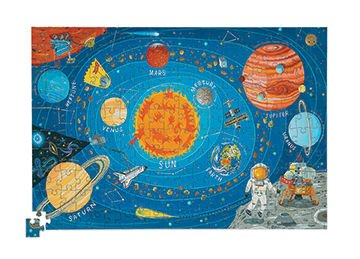 Puzzle w tubie 200 elementów - kosmos, Crocodile Creek