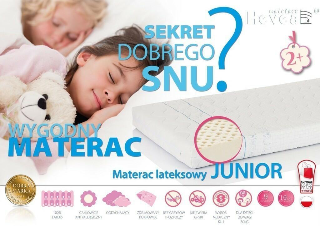 materac lateksowy dla dziecka