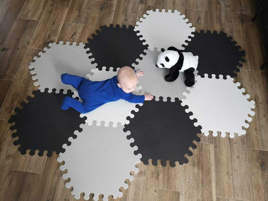 mata edukacyjna puzzle piankowe na podłogę