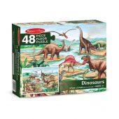 puzzle podłogowe dinozaury 48 melissa & doug