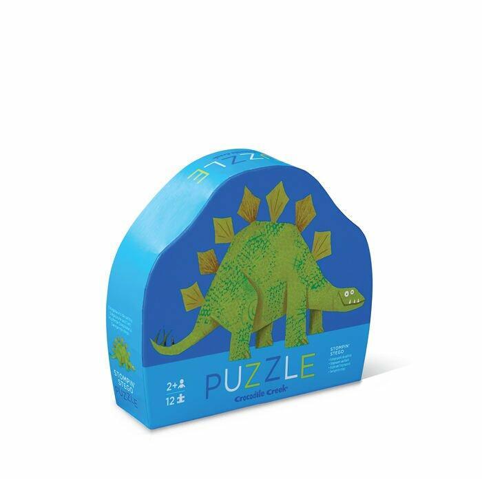 puzzle z dinozaurem 12 el