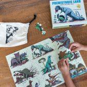 puzzle dinozaury rex london