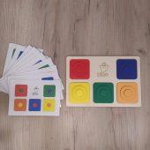 sorter kolorów układanka warstowa lilco