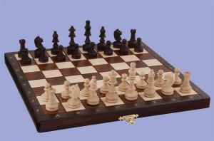 szachy drewniane dla dzieci
