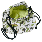 bawełniany worek plecak dinozaury