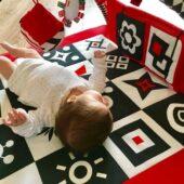 kontrastowa mata sensoryczna babysenses
