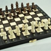 drewniane szachy abino